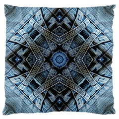 Jeans Background Large Cushion Case (one Side)