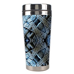 Jeans Background Stainless Steel Travel Tumblers