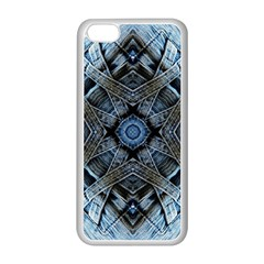 Jeans Background Apple Iphone 5c Seamless Case (white)