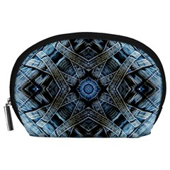 Jeans Background Accessory Pouches (Large)