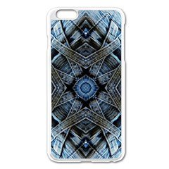 Jeans Background Apple Iphone 6 Plus/6s Plus Enamel White Case