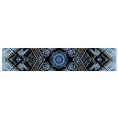 Jeans Background Flano Scarf (Small)