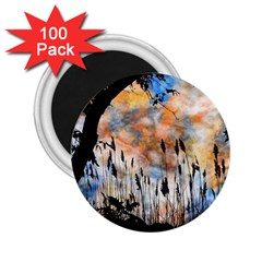 Landscape Sunset Sky Summer 2.25  Magnets (100 pack)