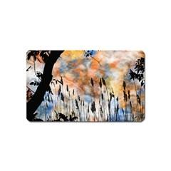 Landscape Sunset Sky Summer Magnet (Name Card)