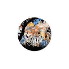 Landscape Sunset Sky Summer Golf Ball Marker (4 pack)