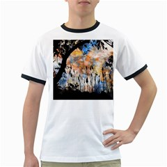 Landscape Sunset Sky Summer Ringer T-Shirts