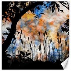 Landscape Sunset Sky Summer Canvas 16  x 16
