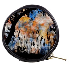 Landscape Sunset Sky Summer Mini Makeup Bags