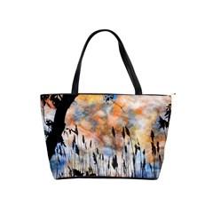 Landscape Sunset Sky Summer Shoulder Handbags