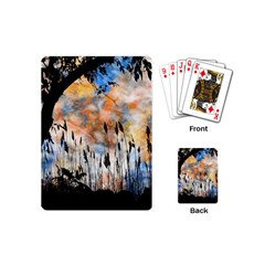 Landscape Sunset Sky Summer Playing Cards (mini)
