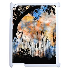 Landscape Sunset Sky Summer Apple Ipad 2 Case (white)