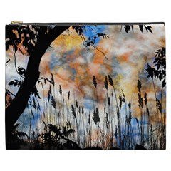 Landscape Sunset Sky Summer Cosmetic Bag (XXXL)