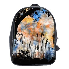 Landscape Sunset Sky Summer School Bags (xl)