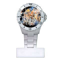 Landscape Sunset Sky Summer Plastic Nurses Watch
