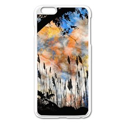 Landscape Sunset Sky Summer Apple Iphone 6 Plus/6s Plus Enamel White Case