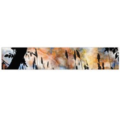 Landscape Sunset Sky Summer Flano Scarf (large)