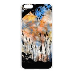 Landscape Sunset Sky Summer Apple Seamless iPhone 6 Plus/6S Plus Case (Transparent)