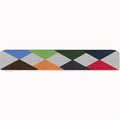Leather Colorful Diamond Design Small Bar Mats