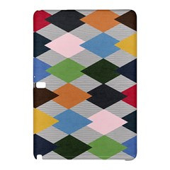 Leather Colorful Diamond Design Samsung Galaxy Tab Pro 12 2 Hardshell Case