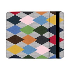 Leather Colorful Diamond Design Samsung Galaxy Tab Pro 8 4  Flip Case