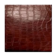 Leather Snake Skin Texture Tile Coasters