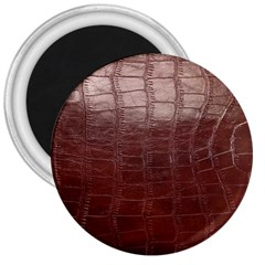Leather Snake Skin Texture 3  Magnets