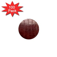 Leather Snake Skin Texture 1  Mini Magnets (100 pack)