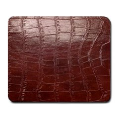 Leather Snake Skin Texture Large Mousepads