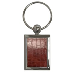 Leather Snake Skin Texture Key Chains (rectangle)