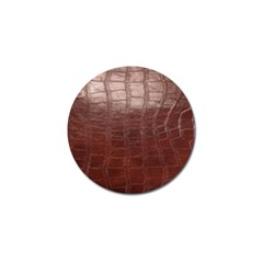 Leather Snake Skin Texture Golf Ball Marker (4 pack)
