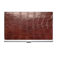 Leather Snake Skin Texture Business Card Holders