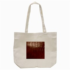 Leather Snake Skin Texture Tote Bag (Cream)