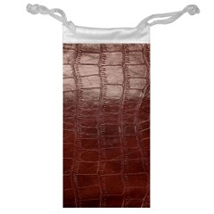 Leather Snake Skin Texture Jewelry Bag