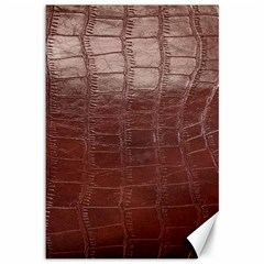 Leather Snake Skin Texture Canvas 12  x 18