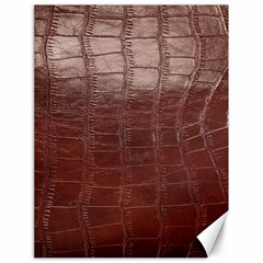 Leather Snake Skin Texture Canvas 18  x 24