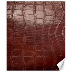 Leather Snake Skin Texture Canvas 20  x 24
