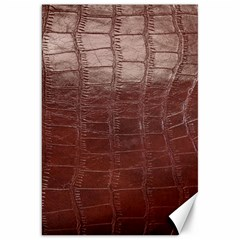 Leather Snake Skin Texture Canvas 20  x 30