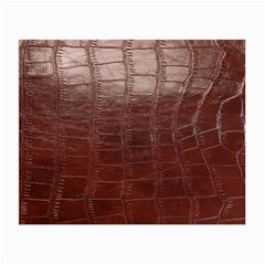 Leather Snake Skin Texture Small Glasses Cloth (2-Side)