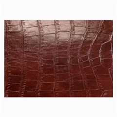 Leather Snake Skin Texture Large Glasses Cloth (2-Side)