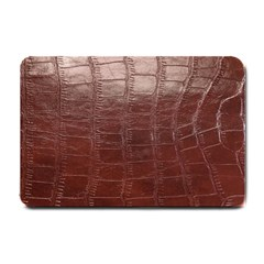 Leather Snake Skin Texture Small Doormat