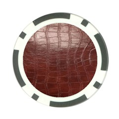 Leather Snake Skin Texture Poker Chip Card Guard