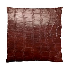 Leather Snake Skin Texture Standard Cushion Case (One Side)