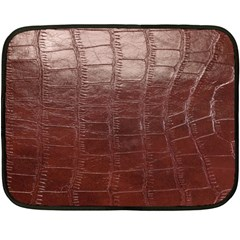 Leather Snake Skin Texture Double Sided Fleece Blanket (Mini)
