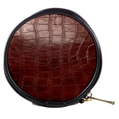 Leather Snake Skin Texture Mini Makeup Bags