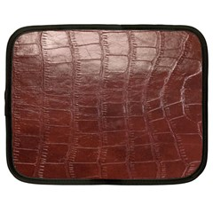 Leather Snake Skin Texture Netbook Case (xxl)