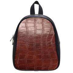 Leather Snake Skin Texture School Bags (Small)