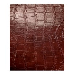 Leather Snake Skin Texture Shower Curtain 60  x 72  (Medium)