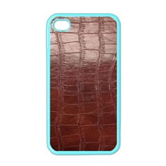 Leather Snake Skin Texture Apple Iphone 4 Case (color)