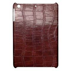 Leather Snake Skin Texture Apple Ipad Mini Hardshell Case