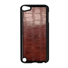Leather Snake Skin Texture Apple Ipod Touch 5 Case (black)